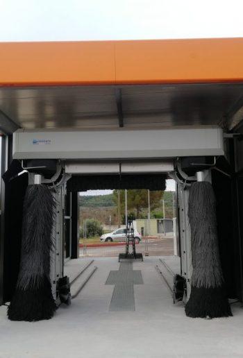 Couverture Portique Ouverte